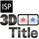 ISP 3D Title
